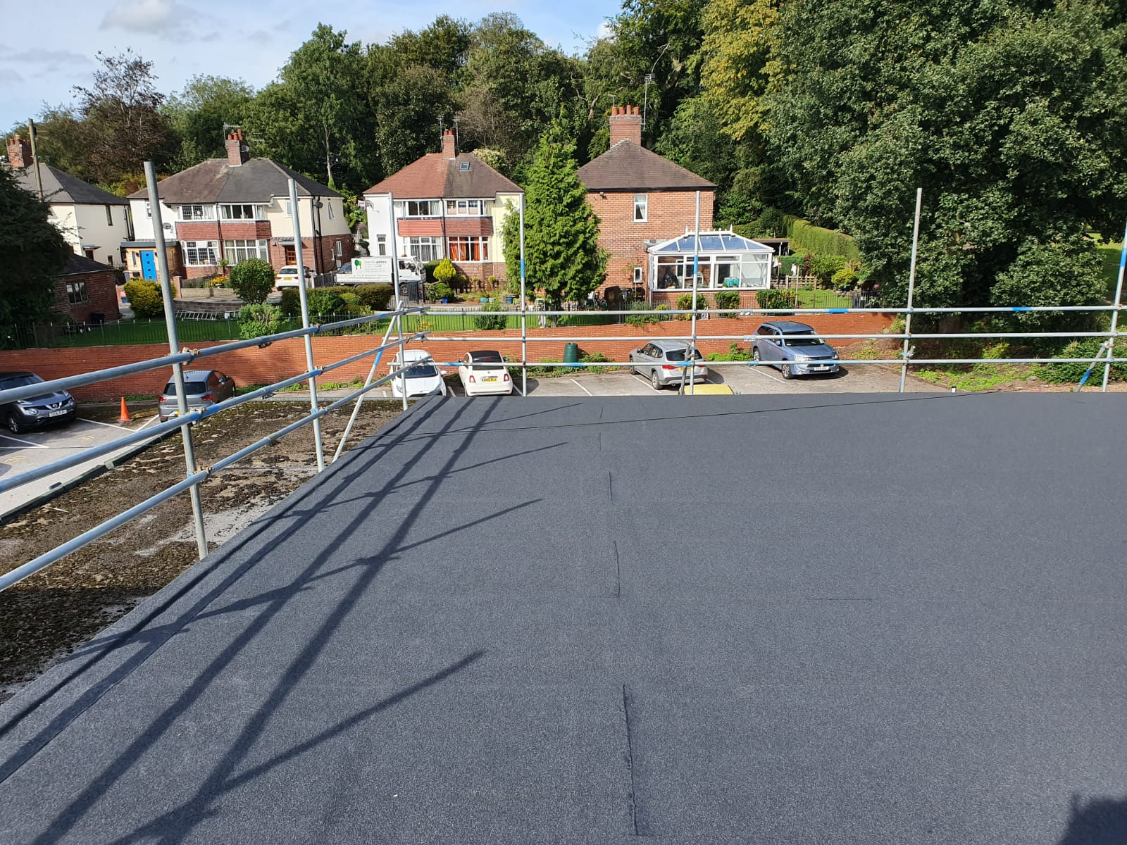 Leaking Flat Roof Repair Newcastle Under Lyme