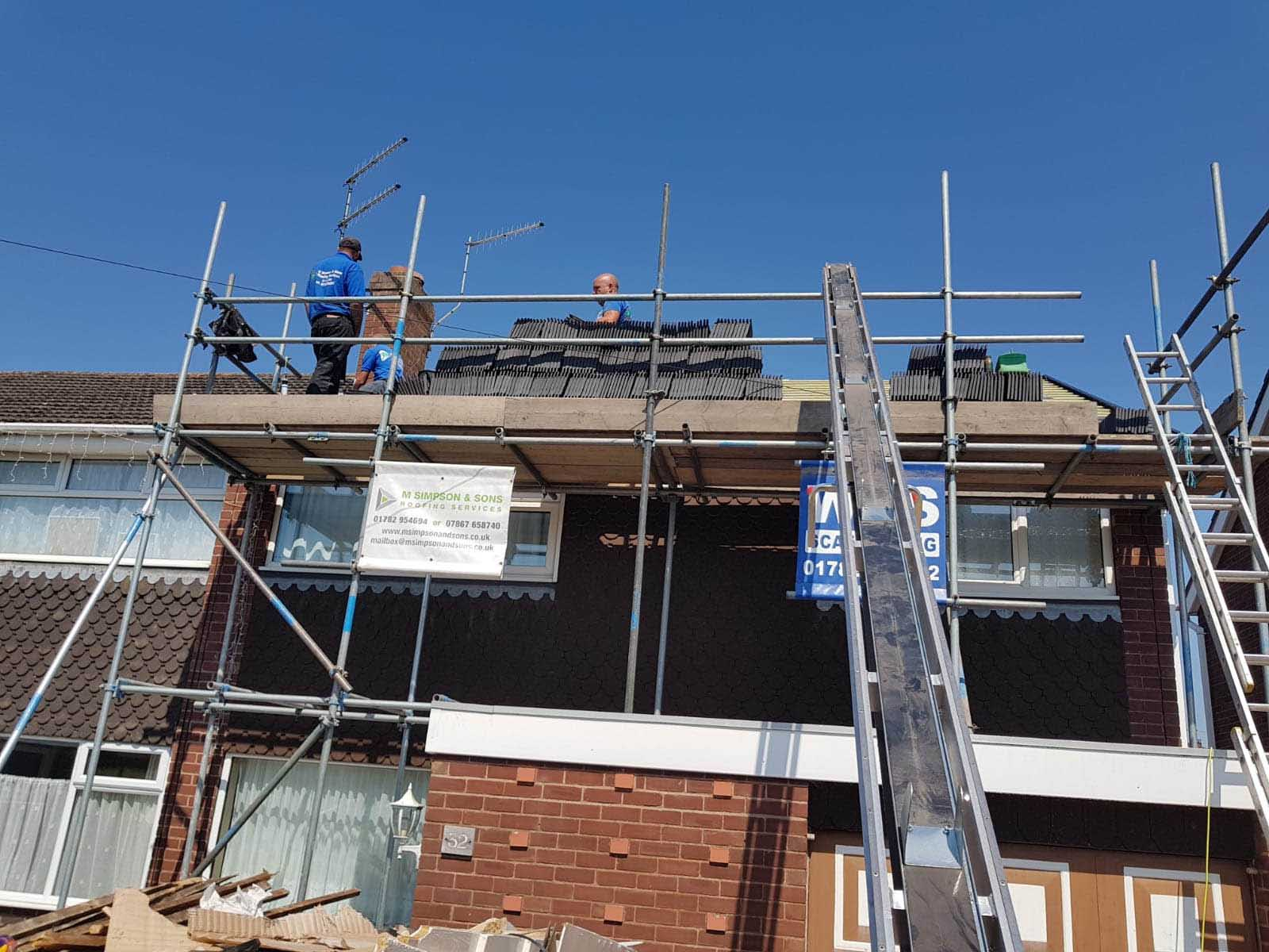 New Roof Build Domestic Macclesfield